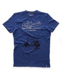 T-Shirt Vespa Stampe Men Blauw