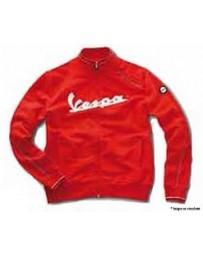 Vespa Sweatshirt Gauzed Rood