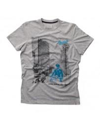 T-Shirt Vespa Stampe Men Grijs