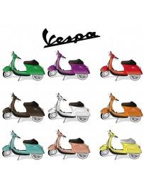 Spuiten Vespa in nieuwe kleur