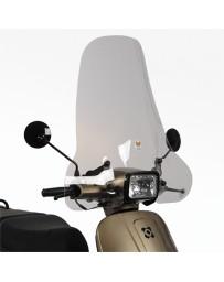 Windscherm Hoog Smoke AGM VX50s incl. bevestigingsset