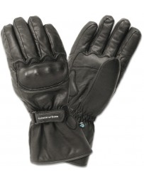 kleding handschoenset leer L zwart tucano 9991m aviatore
