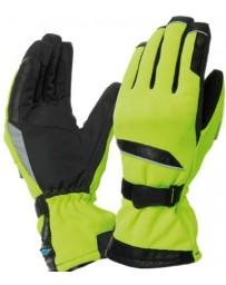 kleding handschoenset geel fluor tucano 9917m flaming