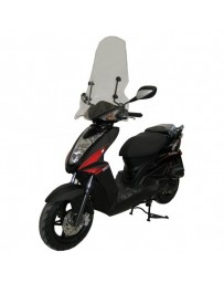 Windscherm Hoog Kymco Agility Delivery RS incl bevestigingsset