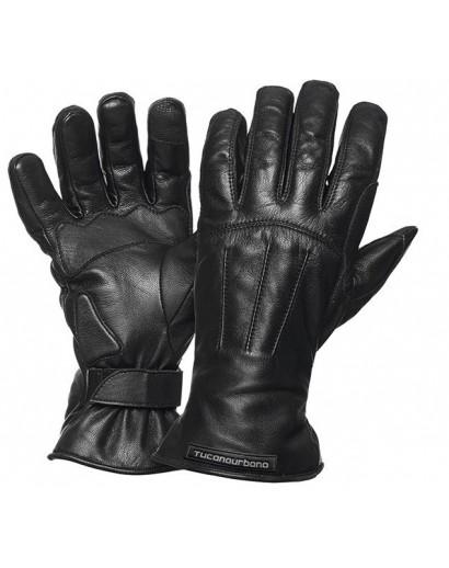 kleding handschoenset leer M zwart tucano 9926m softy touch-op-op
